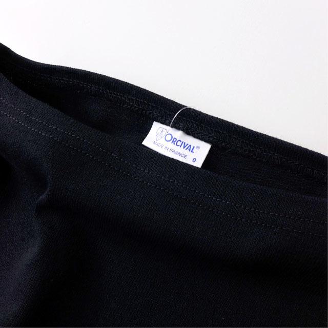 ORCIVAL [オーチバル・オーシバル] VASQUE SOLID TEE [B211] COTTON LOURD バスクシャツ  無地 MEN\'S/LADY\'S _f0051306_17264629.jpg