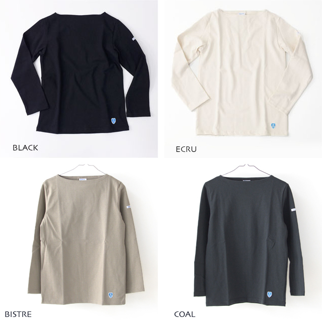 ORCIVAL [オーチバル・オーシバル] VASQUE SOLID TEE [B211] COTTON LOURD バスクシャツ  無地 MEN\'S/LADY\'S _f0051306_17264653.jpg