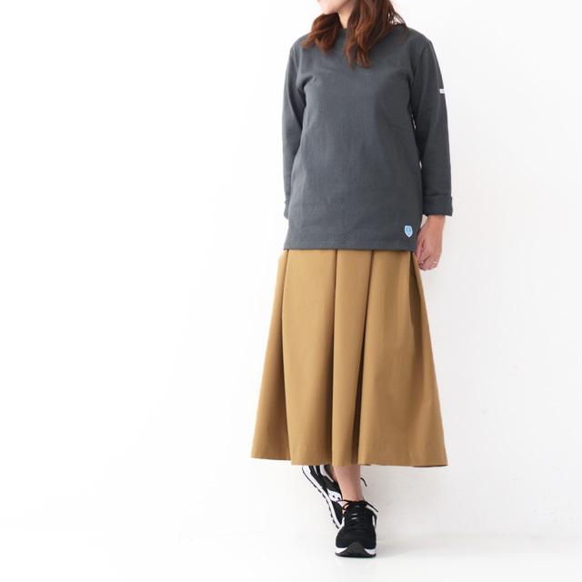 ORCIVAL [オーチバル・オーシバル] VASQUE SOLID TEE [B211] COTTON LOURD バスクシャツ  無地 MEN\'S/LADY\'S _f0051306_17264790.jpg