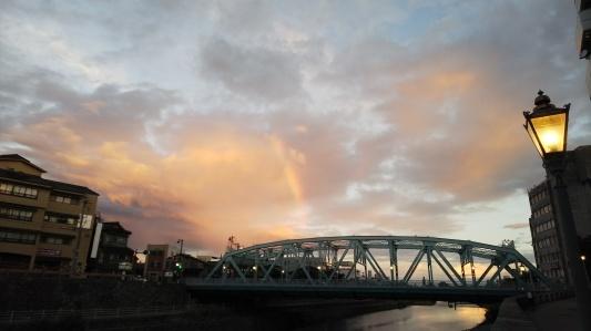 空、虹、猫、やきもの_a0284408_22125770.jpg