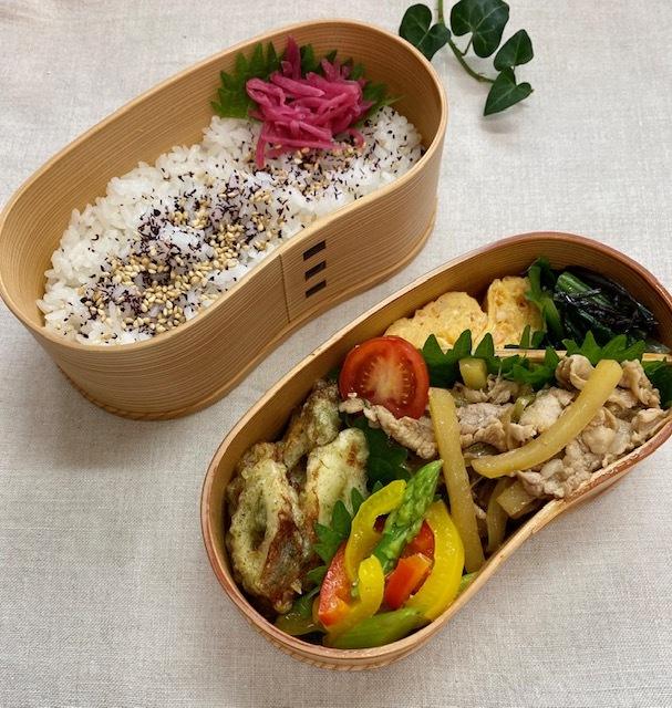 lunch box ×5 秋を待ちわびて_a0165160_11560996.jpg