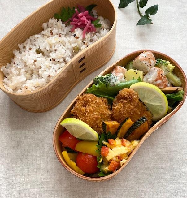 lunch box ×5 秋を待ちわびて_a0165160_11571779.jpg