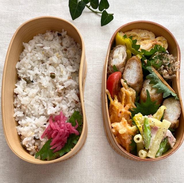 lunch box ×5 秋を待ちわびて_a0165160_11583896.jpg