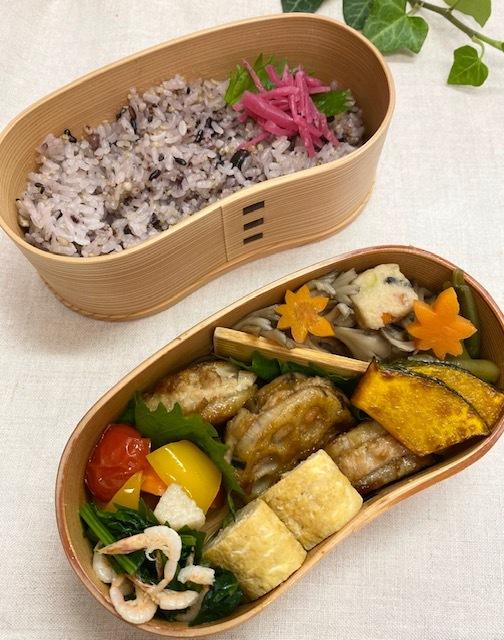 lunch box ×5 秋を待ちわびて_a0165160_15271411.jpg
