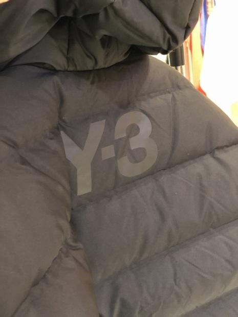 「Y-3 ワイスリー」ダウンジャケット入荷です。_c0204280_11122702.jpg