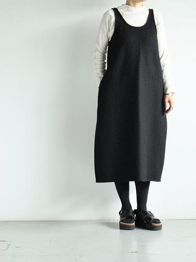 Worker's Nobility Overall Skirt - Pichi / Black 100% Wool_b0139281_1785514.jpg