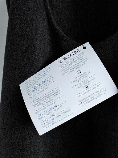Worker's Nobility Overall Skirt - Pichi / Black 100% Wool_b0139281_1792357.jpg