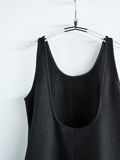 Worker's Nobility Overall Skirt - Pichi / Black 100% Wool_b0139281_1793957.jpg