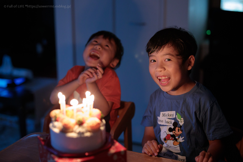 Happy Birthday Aki7歳_c0369219_04481503.jpg