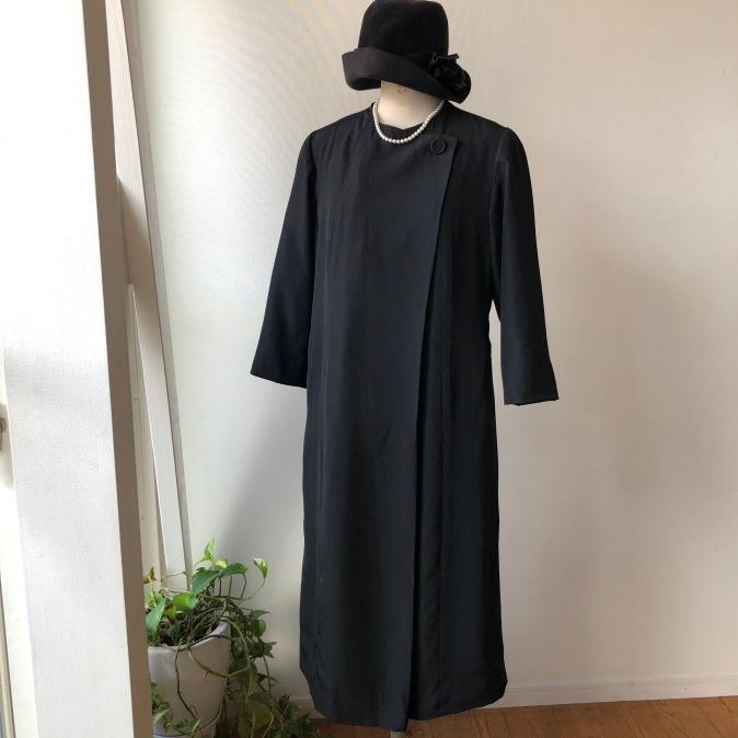 着物リメイク・喪服のお着物からワンピース_d0127925_14142509.jpg