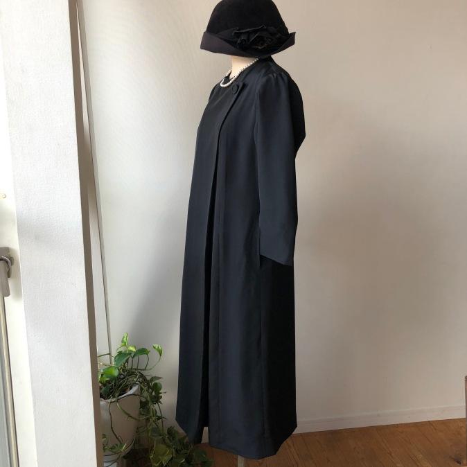 着物リメイク・喪服のお着物からワンピース_d0127925_14143135.jpg