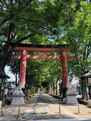 武蔵一宮 氷川神社と氷川だんご(^^)_e0152329_17205630.jpg