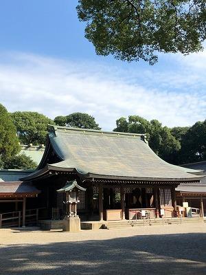 武蔵一宮 氷川神社と氷川だんご(^^)_e0152329_17214883.jpg