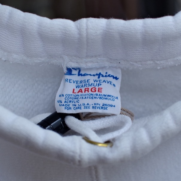 """1980s Champion Reverse Weave \""""Warmup\"""" Sweat Pants with Pockets !!_d0257333_18053555.jpg"""