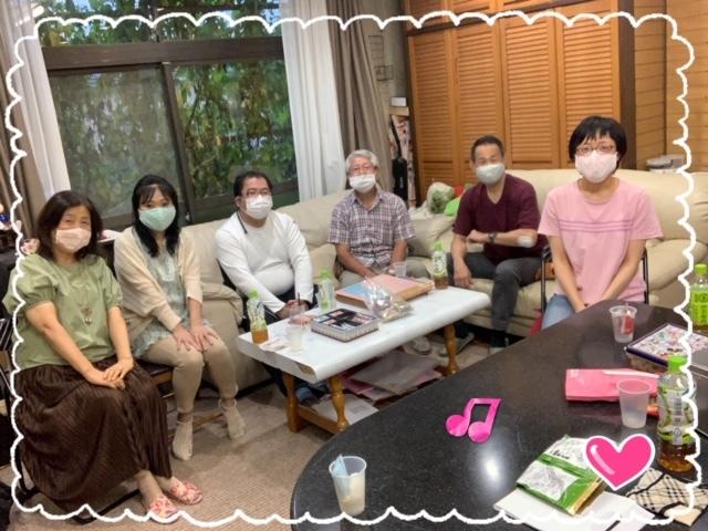 大人の生徒さん達の集まり☆_e0040673_17424313.jpg