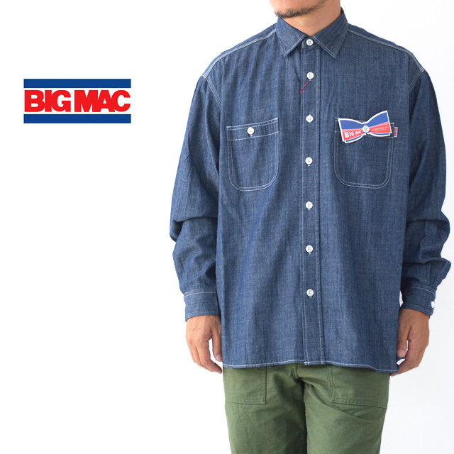 BIG MAC [ビッグ マック] DUNGAREE REGULAR SHIRTS [BMC-018] ダンガリー レギュラー シャツ・シャンブレーシャツ・MEN\'S _f0051306_17290816.jpg