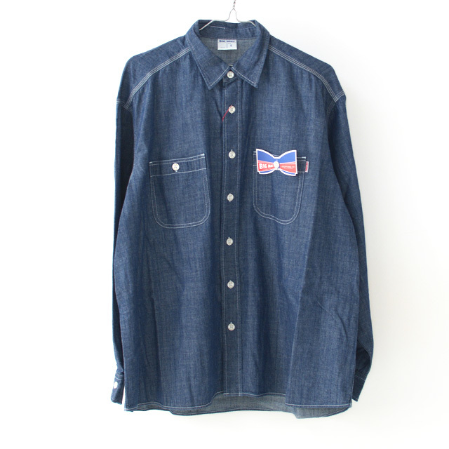 BIG MAC [ビッグ マック] DUNGAREE REGULAR SHIRTS [BMC-018] ダンガリー レギュラー シャツ・シャンブレーシャツ・MEN\'S _f0051306_17290895.jpg