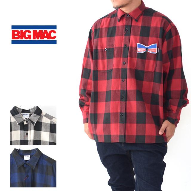 BIG MAC [ビッグ マック] REGULAR SHIRTS [BMC-019] レギュラー シャツ・ネルシャツ・チェックシャツ・MEN\'S _f0051306_17334216.jpg