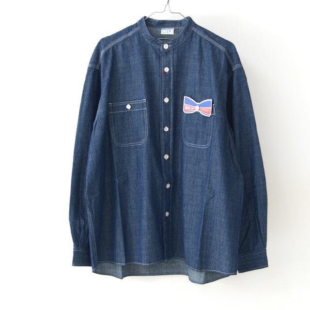 BIG MAC [ビッグ マック] DUNGAREE STAND SHIRTS [BMC-020] ダンガリー スタンド シャツ・長袖シャツ・MEN\'S _f0051306_17382607.jpg