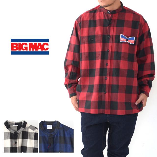 BIG MAC [ビッグ マック] STAND SHIRTS [BMC-021] スタンド シャツ・長袖シャツ・ネルシャツ・チェックシャツ・MEN\'S _f0051306_17430119.jpg