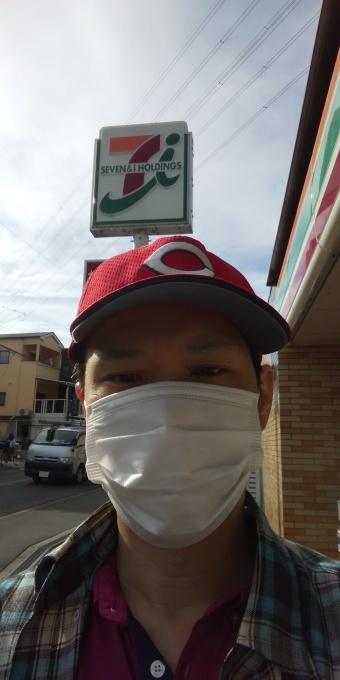 本日も誰もしないアベノマスクよりコンビニのマスクで介護現場に出勤です!_e0094315_08290063.jpg