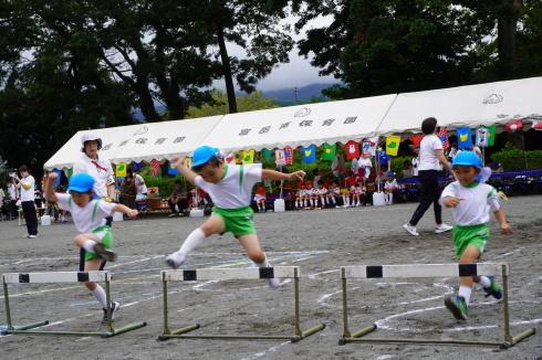 9/14 富岳南・キッズセンター運動会_e0185893_07300481.jpg