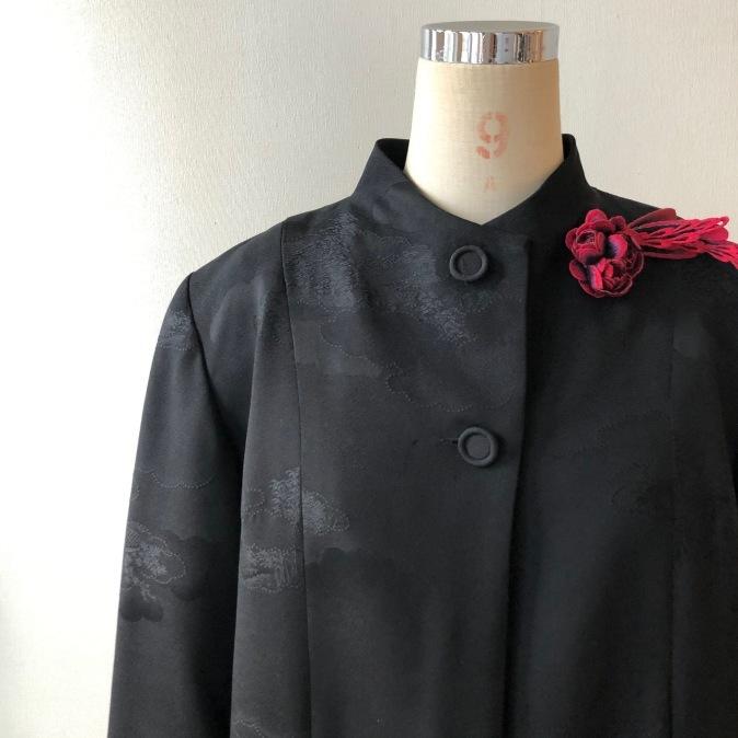 着物リメイク・羽織からシンプルジャケット_d0127925_10595595.jpg