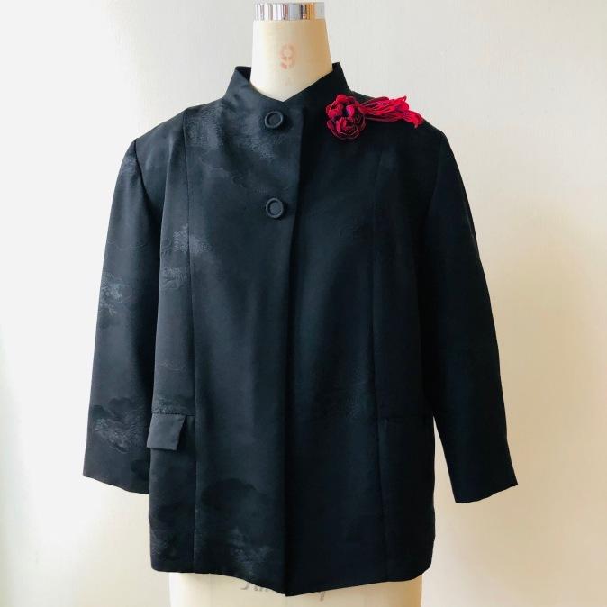 着物リメイク・羽織からシンプルジャケット_d0127925_11000415.jpg