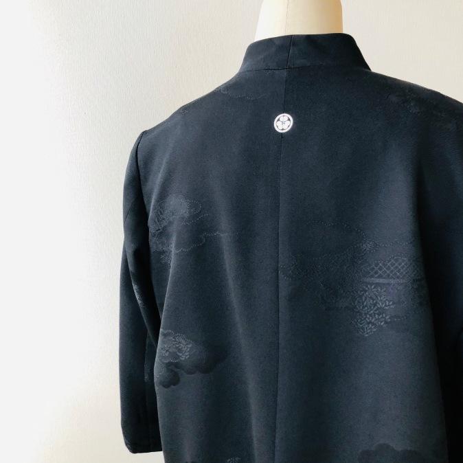 着物リメイク・羽織からシンプルジャケット_d0127925_11001510.jpg