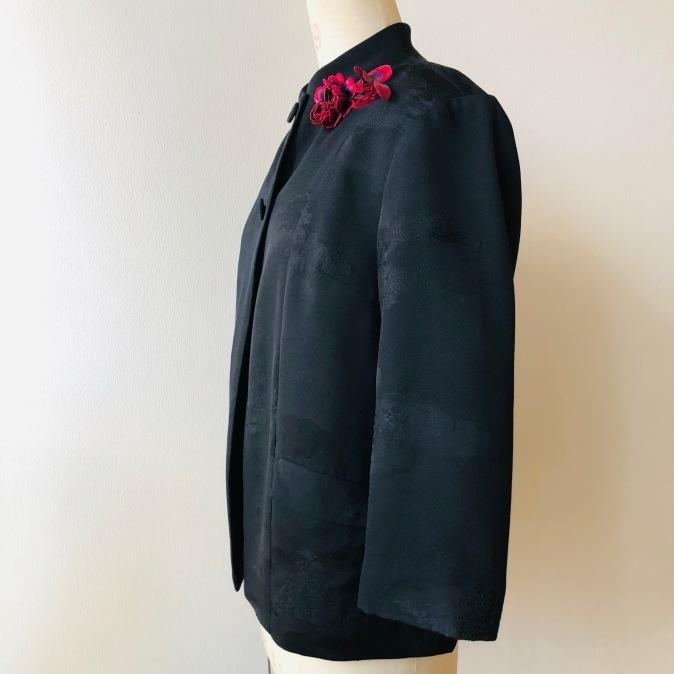 着物リメイク・羽織からシンプルジャケット_d0127925_11002620.jpg