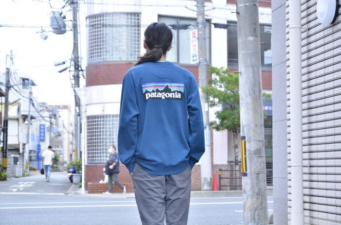 PATAGONIA P-6 Logo Organic Crew Sweatshirt_c0167336_15122685.jpg