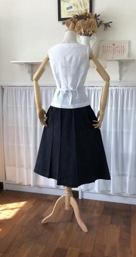 デニムシリーズ ~10枚剥ぎスカート~_f0182167_09140436.jpeg