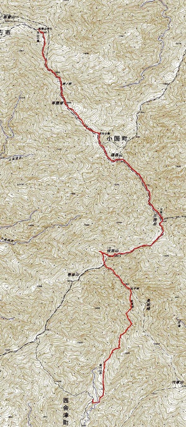 飯豊連峰縦走 ~ 2020年8月29日~31日_f0170180_22362116.jpg