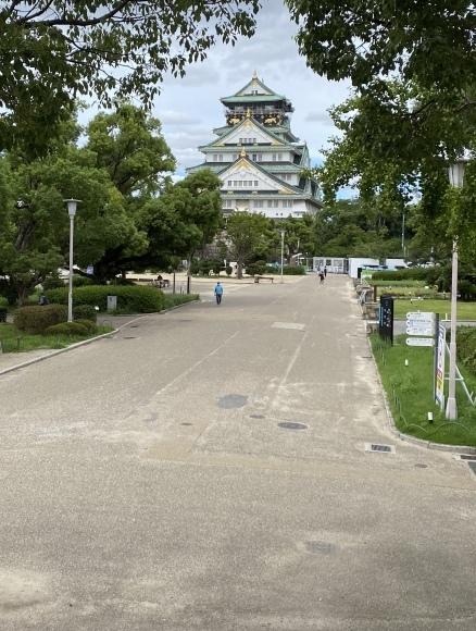観光客も少なくなった 大阪城公園_c0164881_18472841.jpg