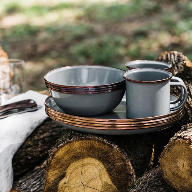 Barebones Living [ベアボーンズリビング] エナメルプレート 2個セット [20235023] プレート・皿・キャンプ用品・MEN\'S/LADY\'S _f0051306_13531318.jpg