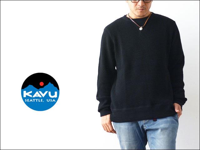 KAVU [カブー] MARVIN\'S CREW [19820127] マービンズクルー・サーマル長袖TシャツMEN\'S _f0051306_13580513.jpg