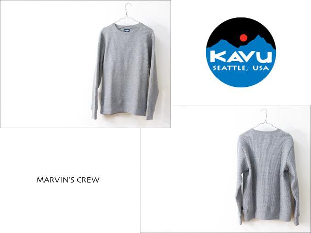 KAVU [カブー] MARVIN\'S CREW [19820127] マービンズクルー・サーマル長袖TシャツMEN\'S _f0051306_13580607.jpg