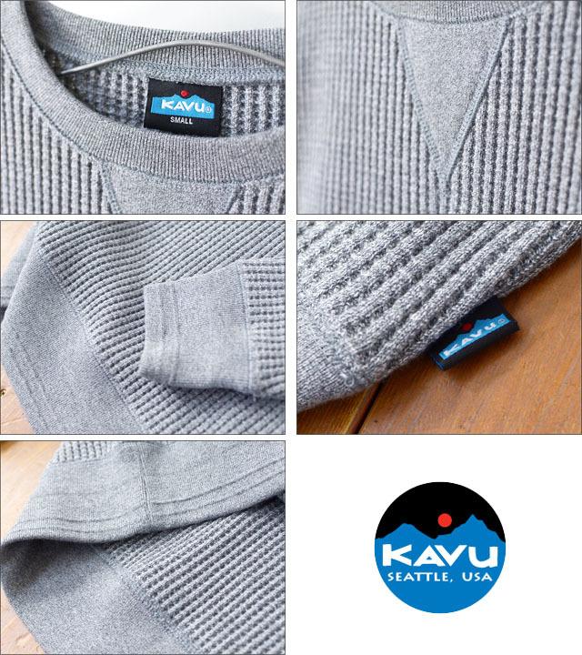KAVU [カブー] MARVIN\'S CREW [19820127] マービンズクルー・サーマル長袖TシャツMEN\'S _f0051306_13580668.jpg