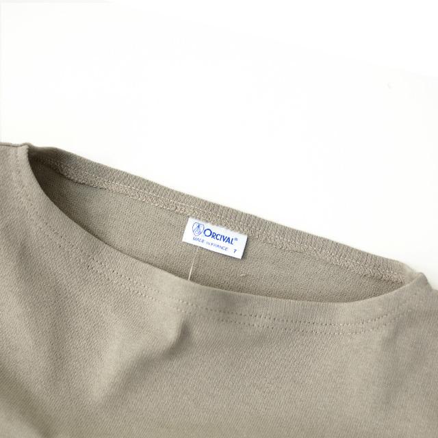 ORCIVAL [オーチバル・オーシバル] VASQUE SOLID BIGGER TEE [B211C] バスクシャツ・カットソー・無地・ MEN'S/LADY\'S _f0051306_15240101.jpg