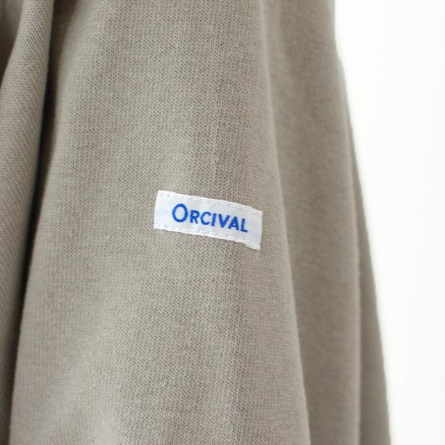 ORCIVAL [オーチバル・オーシバル] VASQUE SOLID BIGGER TEE [B211C] バスクシャツ・カットソー・無地・ MEN'S/LADY\'S _f0051306_15240121.jpg