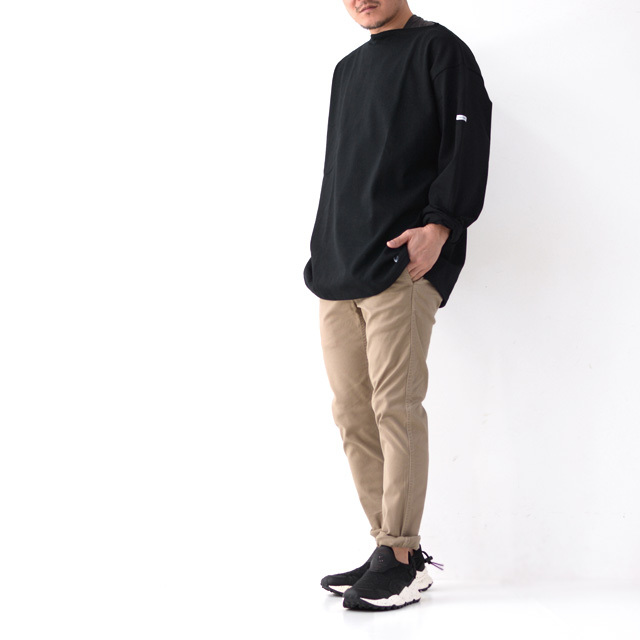 ORCIVAL [オーチバル・オーシバル] VASQUE SOLID BIGGER TEE [B211C] バスクシャツ・カットソー・無地・ MEN'S/LADY\'S _f0051306_15240216.jpg