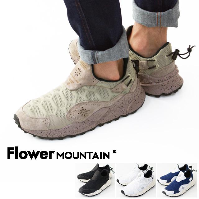 FLOWER MOUNTAIN [フラワーマウンテン] Ms HONEY COMB / メンズ ハニーコーム [FM31001/002/006] レザースニーカー・ハイテクスニーカー・ MEN\'S _f0051306_16132010.jpg
