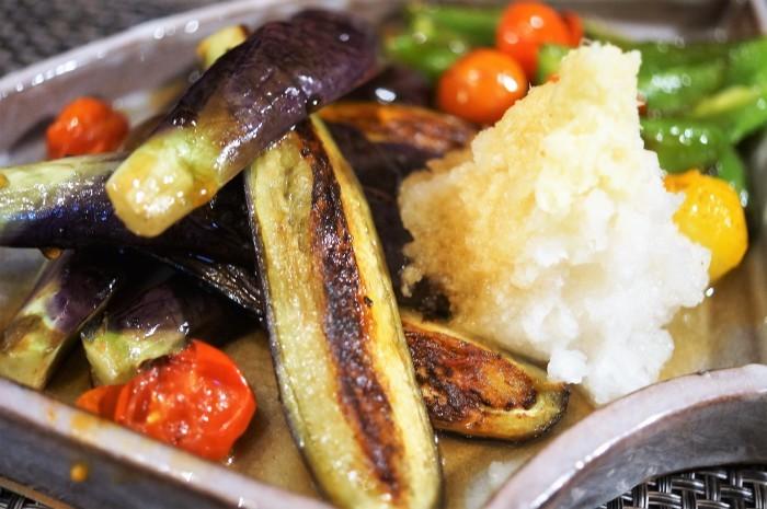 ■簡単5分!!菜園料理【茄子とピーマンの揚げ浸し2種のご紹介です♪】_b0033423_22595697.jpg