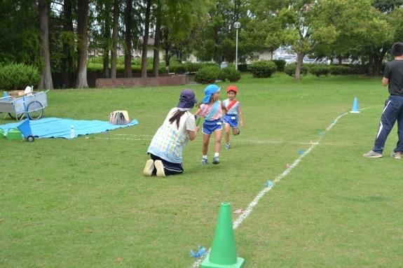 今池公園でリレーの練習♫_e0125433_13353363.jpg