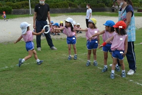 今池公園でリレーの練習♫_e0125433_13354167.jpg