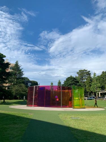 21世紀美術館横のギャラリーとFACTRY ZOOMER_b0228252_16022676.jpg