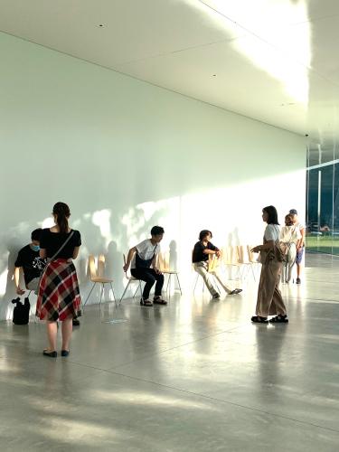 21世紀美術館横のギャラリーとFACTRY ZOOMER_b0228252_16085241.jpg