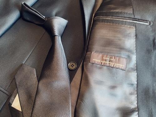 ~フォーマルブラック スーツ&ネクタイ~ 【Sartoria Iwate】 編_c0177259_21395227.jpeg