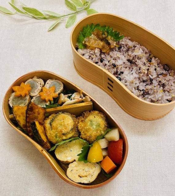 lunch box  ×3 作るのが一番楽しい季節♪_a0165160_20402380.jpg
