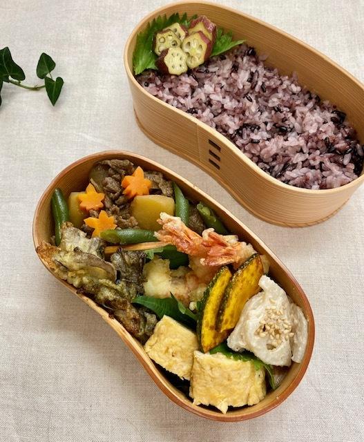lunch box  ×3 作るのが一番楽しい季節♪_a0165160_20464740.jpg